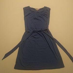 Ann Taylor Loft Petites XSP sleeveless blue dress